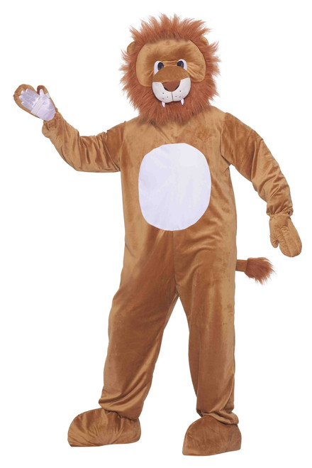 Lion Plush Mascot Costume