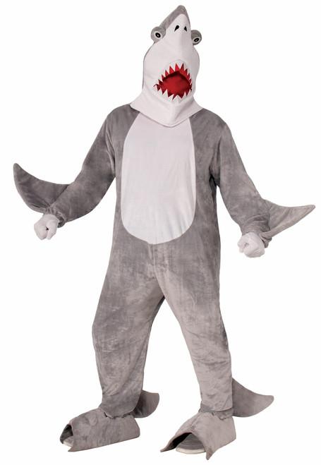 Great White Shark Mascot Costume