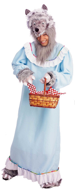 Granny Wolf Funny Halloween Costume