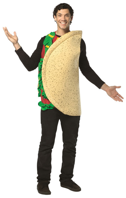 Mexican Taco Halloween Costume