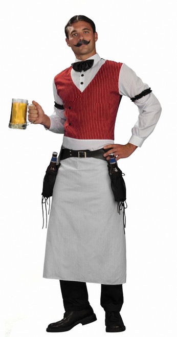 Wild West Men's Bartender Halloween Costume