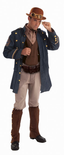 Victorian Sci Fi Steampunk General Men's Costume