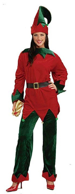 Santa's Helper Holiday Elf Costume - Plus Size