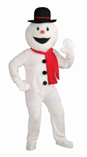 Adult Snowman Mascot Deluxe