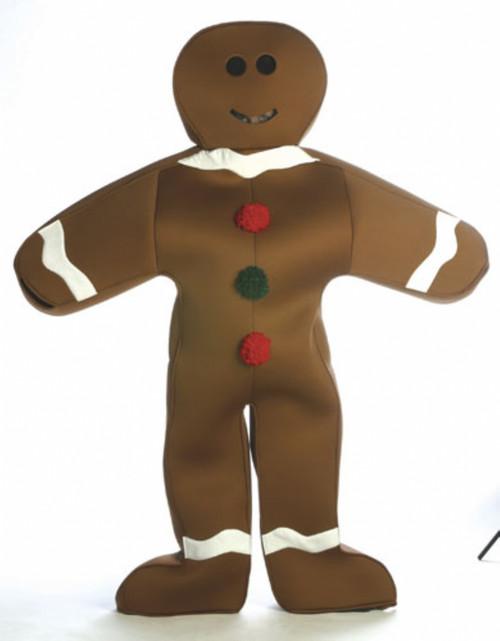Adult Gingerbread Man Costume