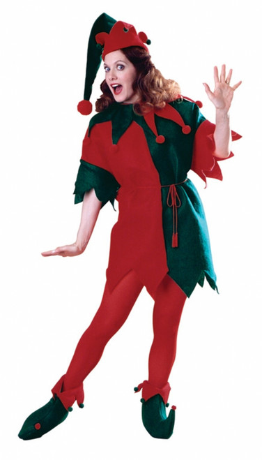 Adult Elf Christmas Costume