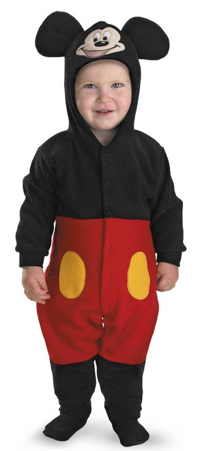 Infant/Toddler's Mickey Mouse Onesie Costume