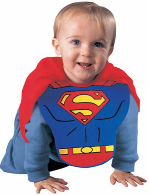Infant's Superman Bib and Cape Costume