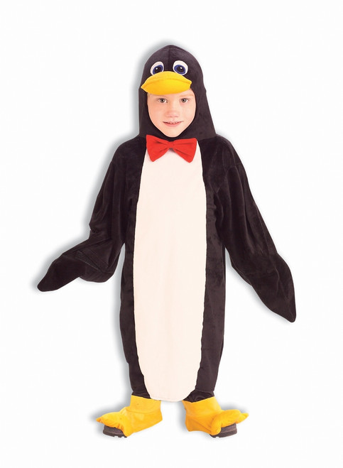 Toddler's Plush Penguin Costume