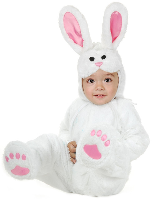 Infant/Toddler's Fuzzy Plush Bunny Costume