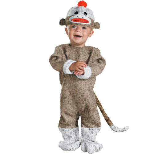 Toddler's Sock Monkey Costume