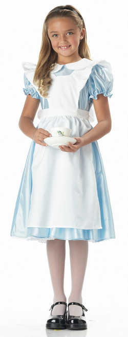 Girl's Alice In Wonderland Halloween Costume