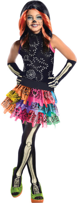 Children's Skelita Calaveras Monster High Costume