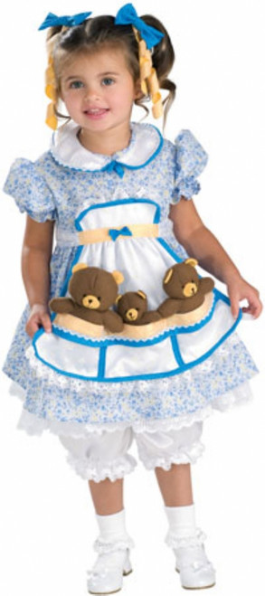 Children's Goldilocks Dress Costume