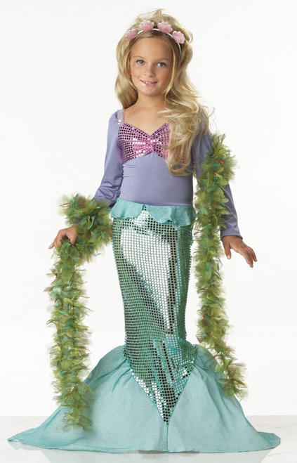 Children's Little Mermaid Glamour Costume