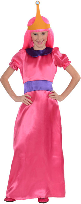 Children's Princess Bubblegum Adventure Time Costume
