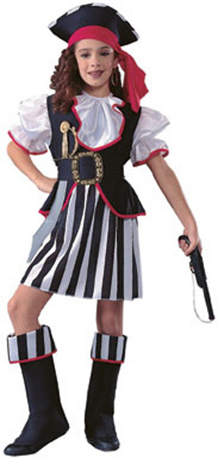 Children's Seven Seas Pirate Girl Costume