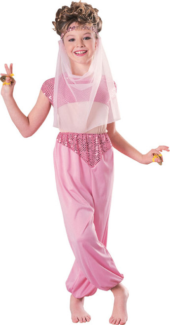 Children's Harem Belly Dancer Arabian Costume