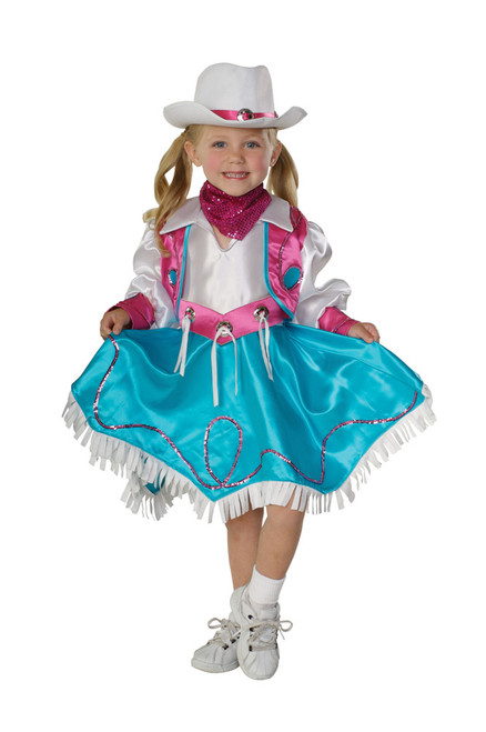 Children's Cowgirl Rodeo Princess Costume