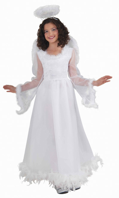 Children's Fluttery Feather Angel Costume