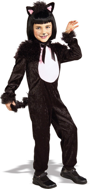 Children's Stola Kitty Black Cat Costume