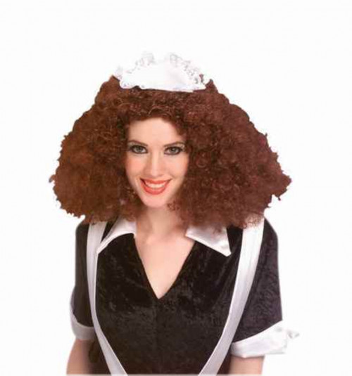 Rocky Horror Curly Magenta Wig