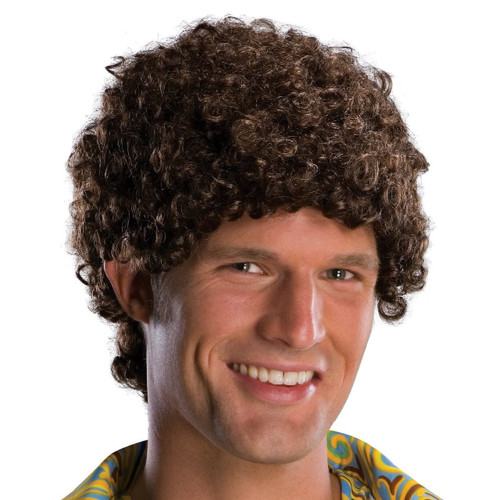 Tight Afro Adult Costume Wig