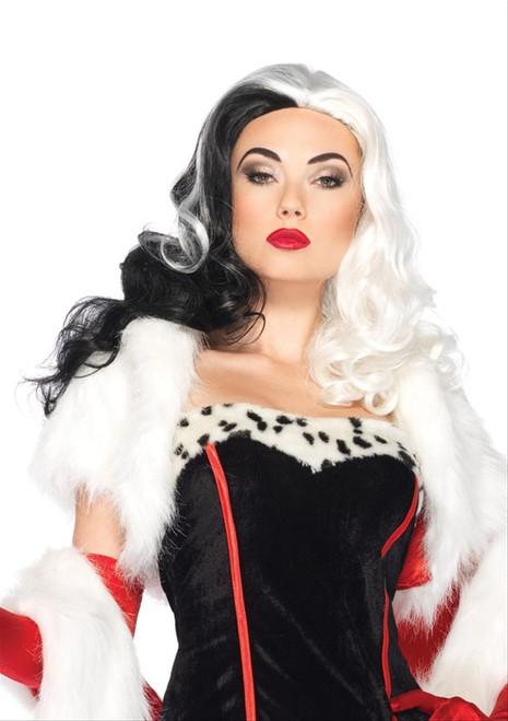 Long Wavy Cruella Wig