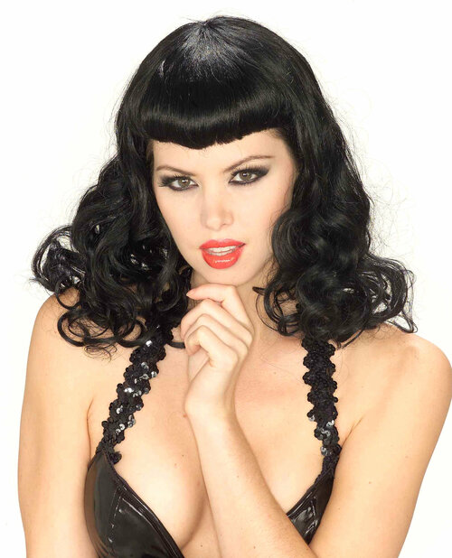 Betty Page Wig