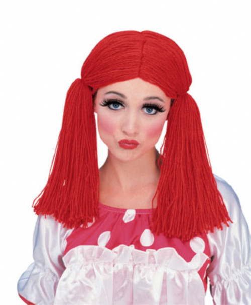Rag Doll Yarn Wig