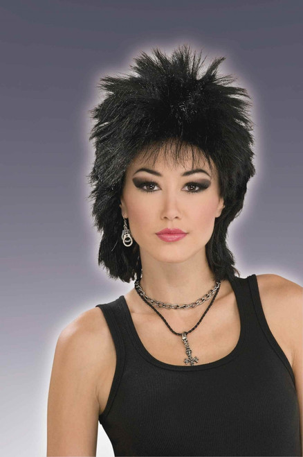 80s Rock Idol Costume Wig
