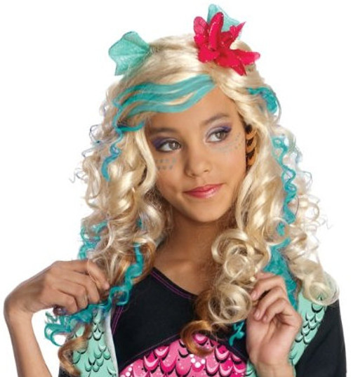 Children's Lagoona Blue Monster High Blue Wig