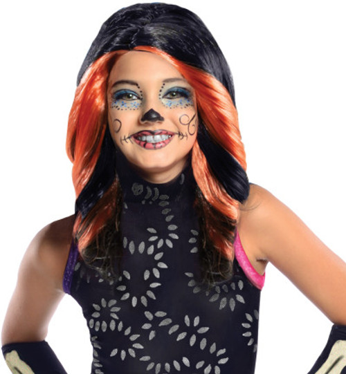 Children's Skelita Calaveras Monster High Wig