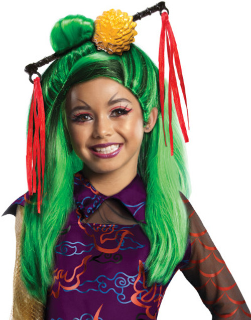 Jinafire Long Child Monster High Wig