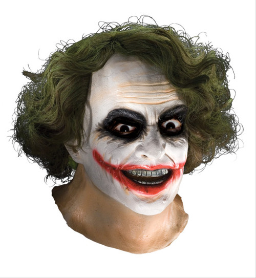 Joker Mask with Hair