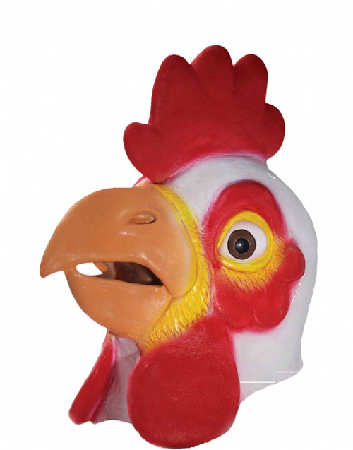 Chicken Deluxe Latex Animal Mask