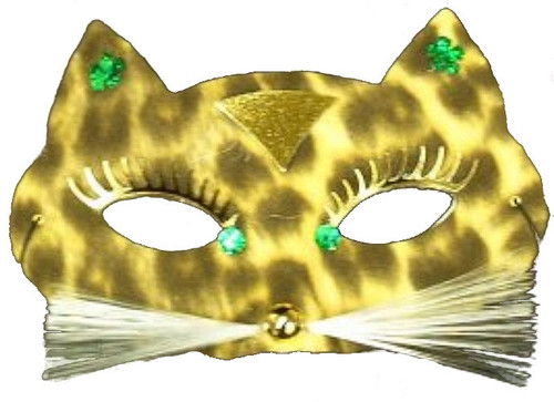 Spotted Cat Leopard Pantera Mask