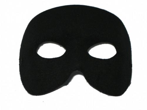 Classic Masquerade Black Doge Mask