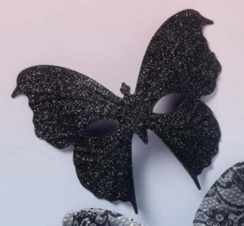Top Model Sparkle Butterfly Costume Mask