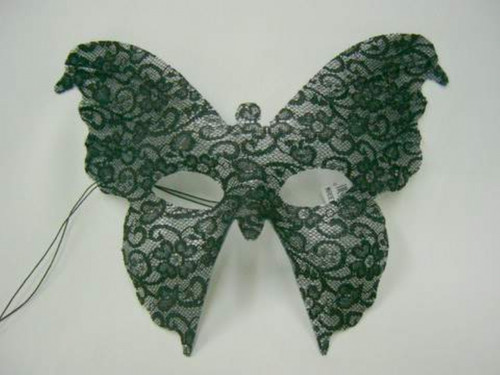 Appeal Lace Black Butterfly Costume Mask