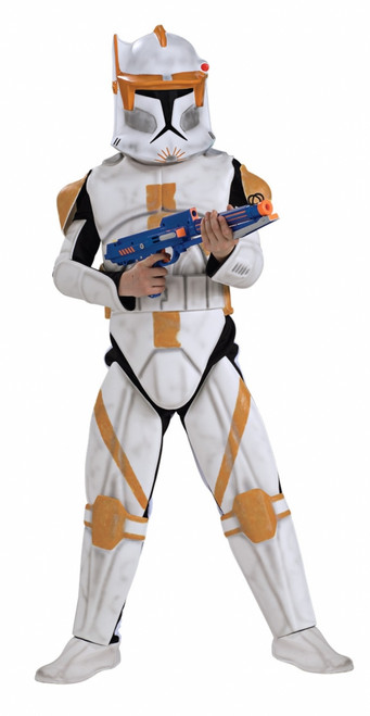 Deluxe Star Wars Clone Commander Halloween Costume