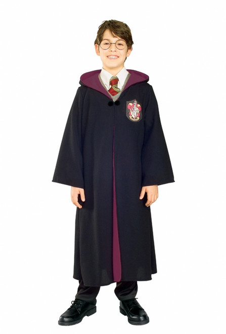 Children's Deluxe Harry Potter Gryffindor Robe Costume