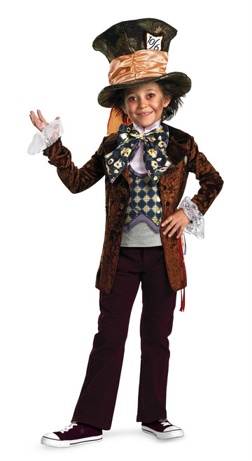 Kid's Mad Hatter Halloween Costume