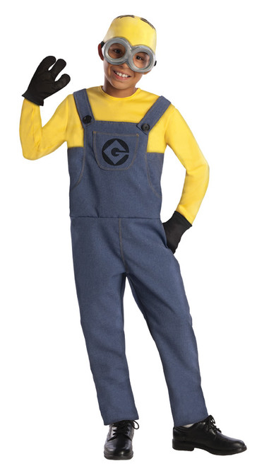 Children's Minion Dave Costume