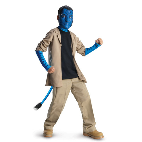 Jake Sully Children's Deluxe Avatar Costume