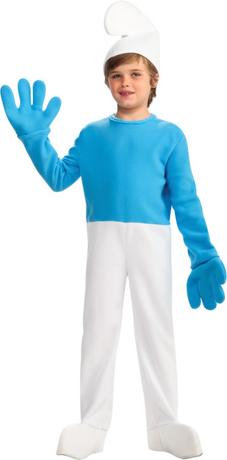 Children's Blue Smurf Halloween Costume
