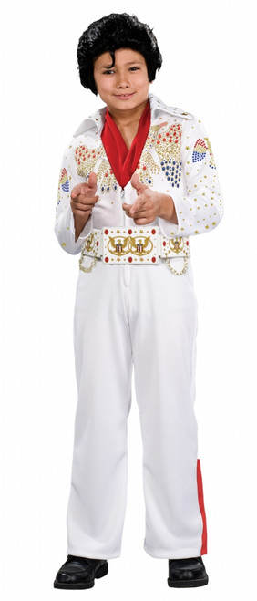 Deluxe Elvis Jumpsuit Children's Costume