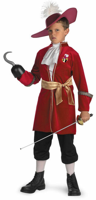 Captain Hook Children's Disney Halloween Costume