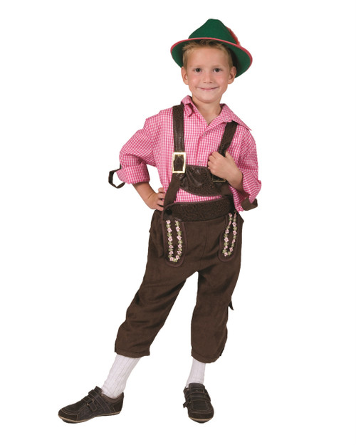 Child's Tirol Lederhosen Costume