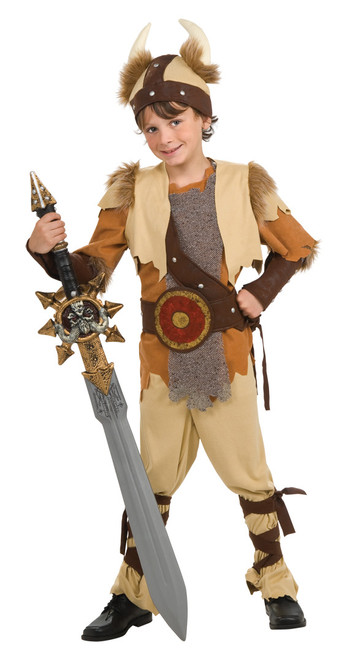 Children's Viking Warrior Costume